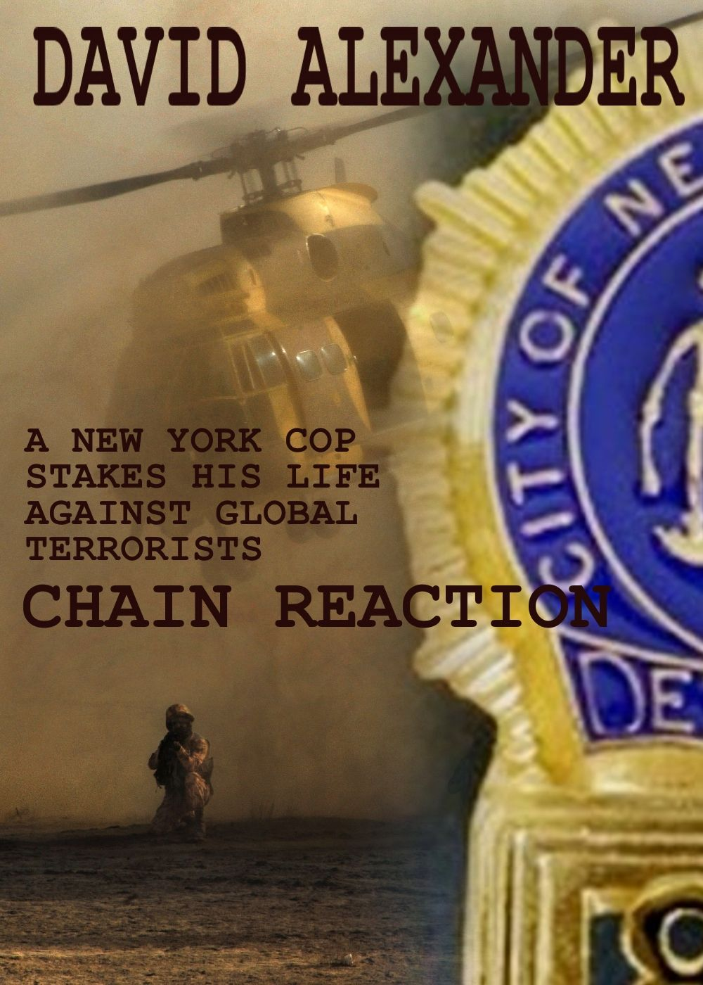 Read Chain Reaction on Kindle. In David Alexander's Chain Reaction, a driven NYPD detective goes after a master terrorist in a global chase that pits New York City street smarts against the deadly skills of the most dangerous man on earth.